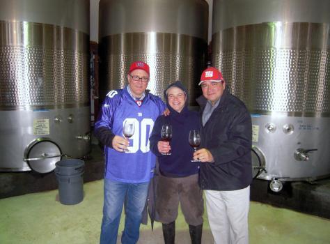 Ricardo Castiblanco, Brandon Lapides, Robert Mazurkiewicz, Armida Winery