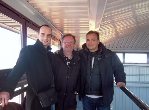 Ricardo Castiblanco, Julien Boulard, Ignasi Lopez, Vision Wine Brands