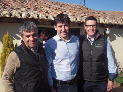 David Gonzales, Eduardo Henaiz Lopes, Victor Hernaiz Lopez, Finca La Emperatriz,