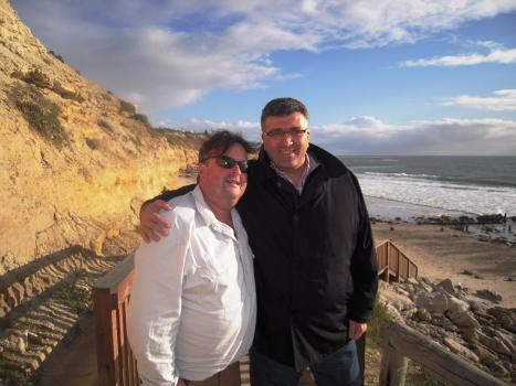 Zar Brooks and Filippo Pistone